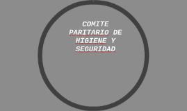 COMITE PARITARIO DE HIGIENE Y SEGURIDAD
