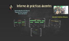 Informe de prácticas docentes