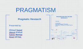Copy of PRAGMATISM