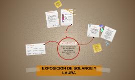 EXPOSICIÓN DE SOLANGE Y LAURA
