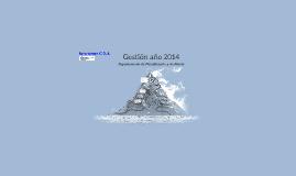 Gestión año 2014