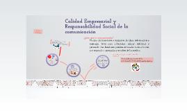 CALIDAD EMPRESARIAL ACERCA DE LA COMUNICACIÓN
