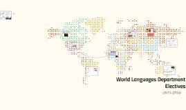 World Languages Department Electives