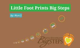 Little FootPrints Big Steps