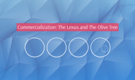 the lexus and the olive trees essay In his book, jihad vs mcworld, benjamin barber takes a view of the new economic world as it relates to those cultures.