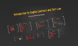 Introduction to English Contract and Tort Law 2