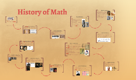 Copy of History of Math