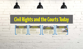 Civil Rights and the Courts Today