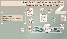 A referência à cidadania nas obras de Nelson Traquina sobre as Teorias do Jornalismo