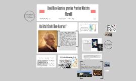 Copy of David Ben-Gurion, premier Premier Ministre d'Israel!