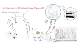 Copy of Evolución de la Educación Japonesa