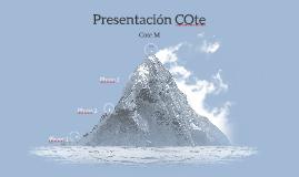 Presentación COte