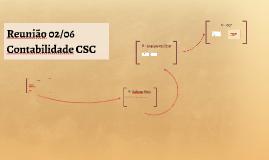 Reunião Contabilidade CSC