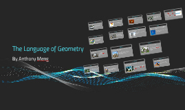 The Language of Geometry