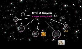 Myth of Dionysus
