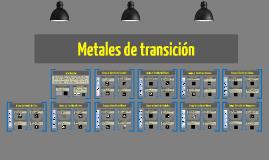 Metales de transición