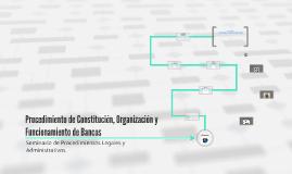 Copy of Procedimiento de Constitución, Organización y Funcionamento