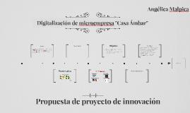 "Digitalizacion de microempresa ""Casa Ámbar"""