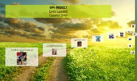 GP4 PROJECT Emily Leonard Espanol 2PAP