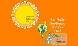 1er Rally Ecologico
