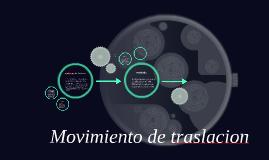 Copy of Copy of Movimiento de la tierra