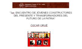 Primer Encuentro de Jóvenes Constructores