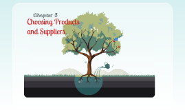 Copy of choosing products and suppliers
