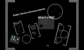 MEDIA: Public Service Announcements