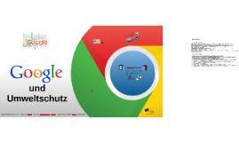 Google und der Umweltschutz