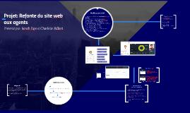Projet: Restructuration du site web aux agents