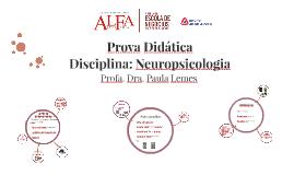 Neuropsicologia - Faculdade Alfa