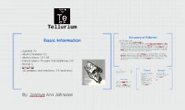 Copy of Tellurium