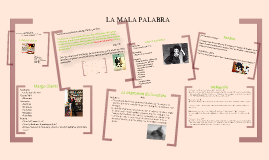 "LUISA VALENZUELA ""LA MALA PALABRA''"