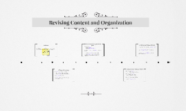Copy of Revising Content and Organization