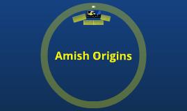 Amish Origins