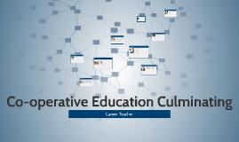 Co-operative Education Culminating