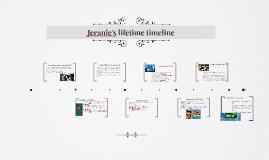 Jeranie's lifetime timeline