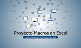 Proyecto Macros en Excel