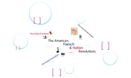America, France, & Haiti
