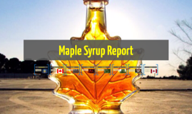 Maple Syrup Report