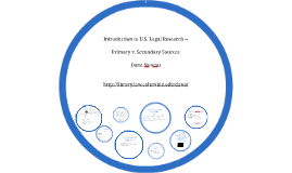 Introduction to U.S. Law and Legal Research