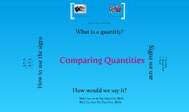 Copy of Comparing Quantities