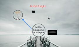 British colonization of Malaysia