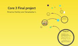 Core 3 Final project