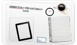 Seminário Pedagógico IFAL/2018