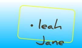 leah Jane
