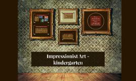 Copy of Impressionist Art