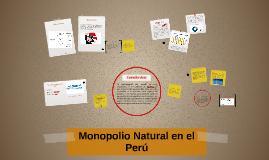 Copy of Monopolio Natural en el Perú
