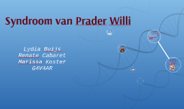 Syndroom van Prader Willi