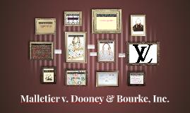 Malletier v. Dooney & Bourke, Inc.